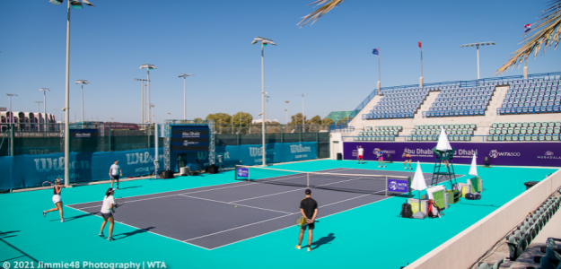 WTA Abu Dhabi. Fuente: Jimmie48 Photography