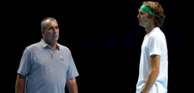 Ivan Lendl y Alexander Zverev. Foto: Getty